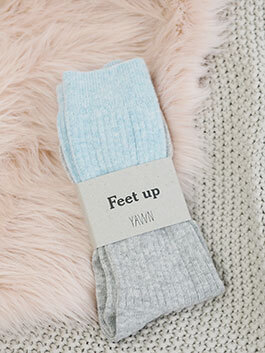 Yawn London Sleep Socks Moi-Même Hygge Box