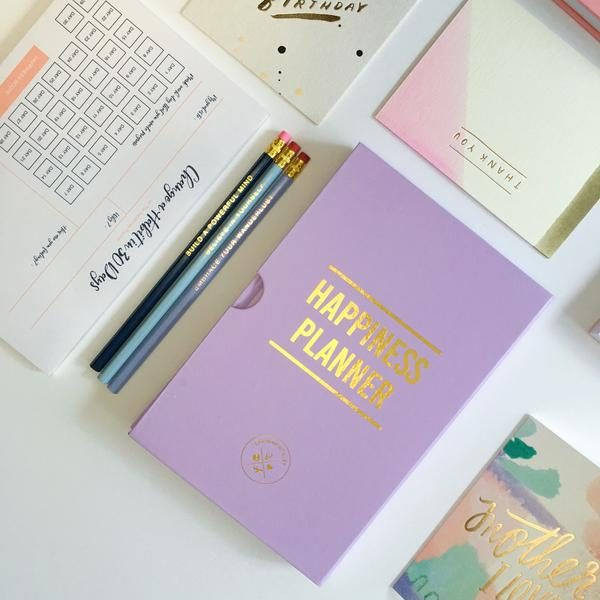 100 Day Happiness Planner Lavender
