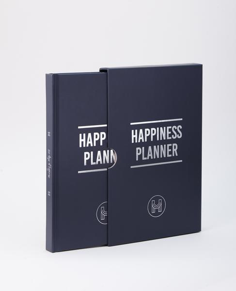 100 Day Happiness Planner Navy