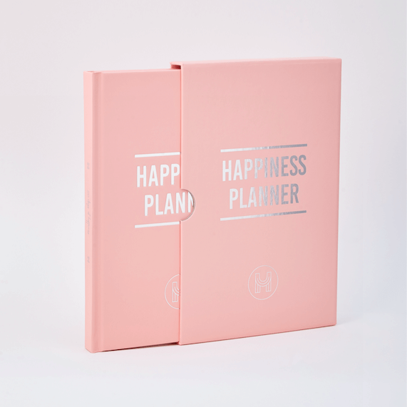 100 Day Happiness Planner Pink