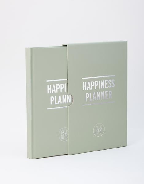 100 Day Happiness Planner Sage Green