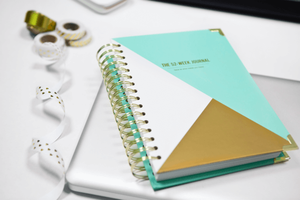 Happiness Planner 52 Week Journal Mint