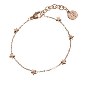 Edblad Mini Star Bracelet Rose Gold