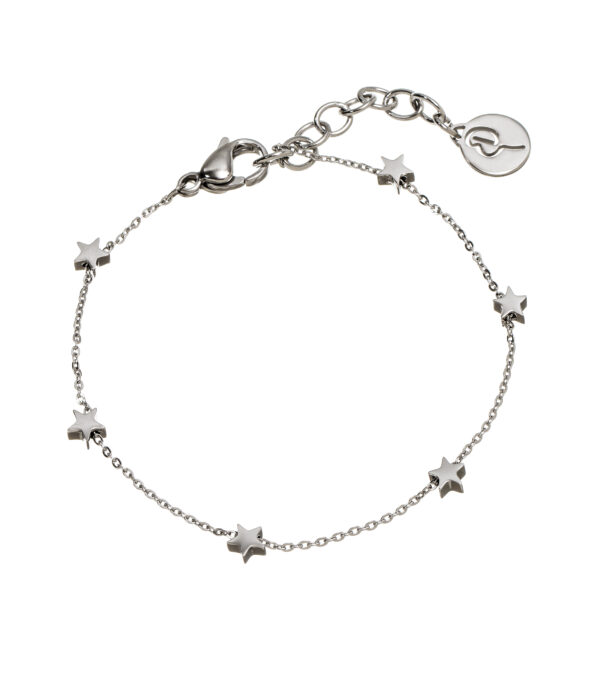 Edblad Mini Star Bracelet Stainless Steel Silver