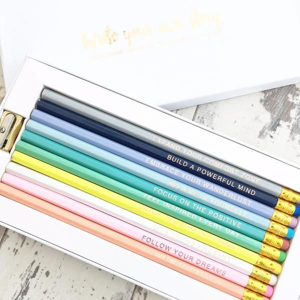 Happiness Planner Pencil Set