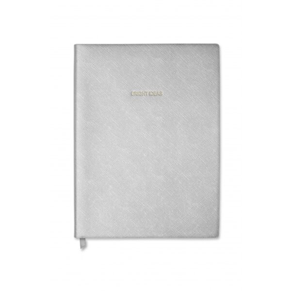 Katie Loxton Silver Notebook Bright Ideas