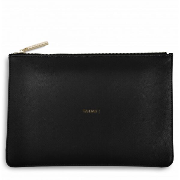 Katie Loxton Perfect Pouch Black Ta-Dah!
