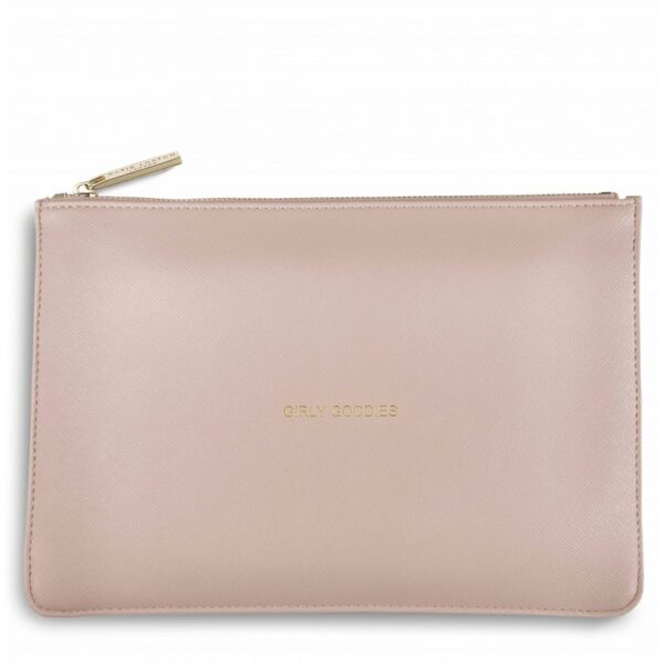 Katie Loxton Perfect Pouch Blush Pink Girly Goodies