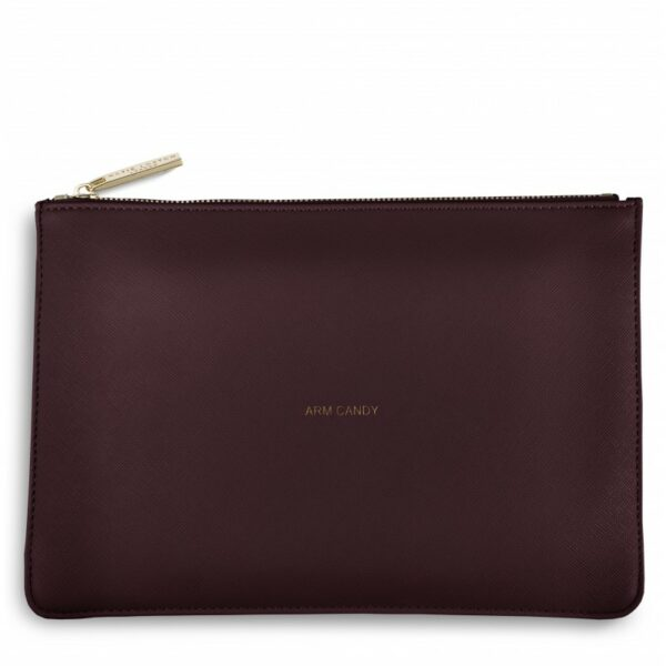 Katie Loxton Perfect Pouch Burgundy Arm Candy