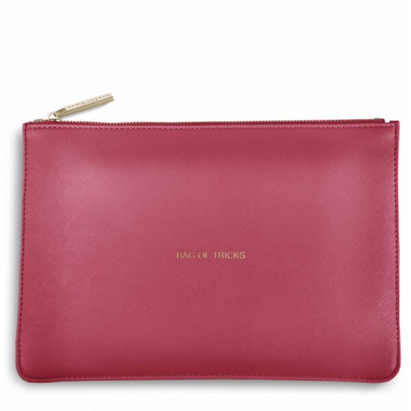 Katie Loxton Perfect Pouch Dark Pink Bag of Tricks