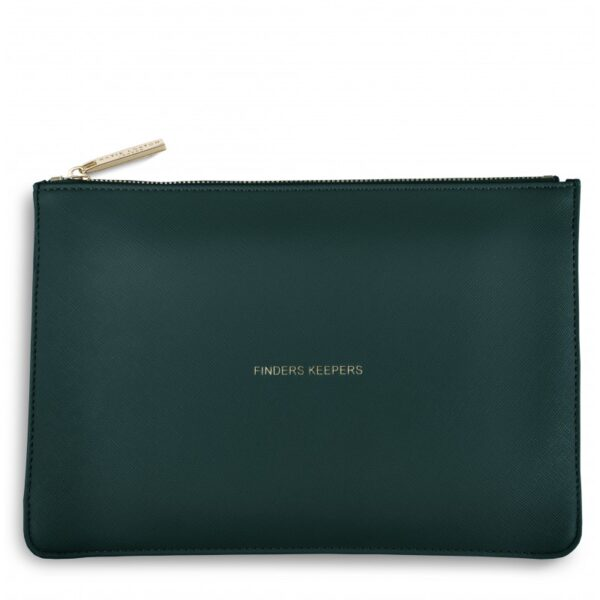 Katie Loxton Perfect Pouch Dark Teal Finders Keepers