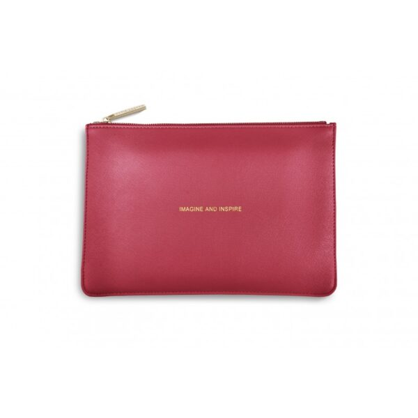 Katie Loxton Perfect Pouch Metallic Watermelon Imagine and Inspire