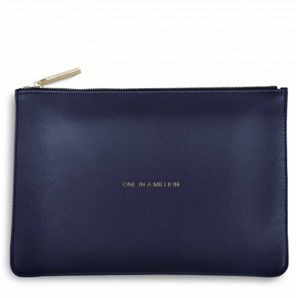 Katie Loxton Perfect Pouch Navy One in a Million