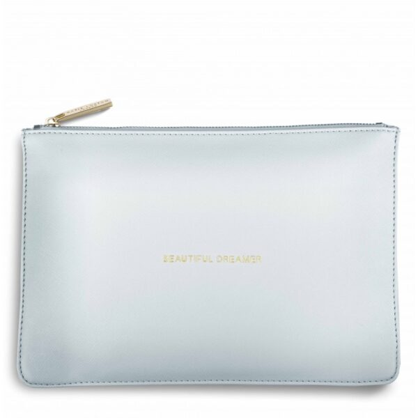 Katie Loxton Perfect Pouch Powder Blue Beautiful Dreamer