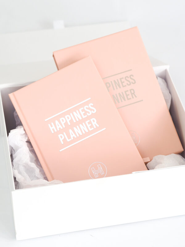 100 Day Happiness Planner Blush Pink