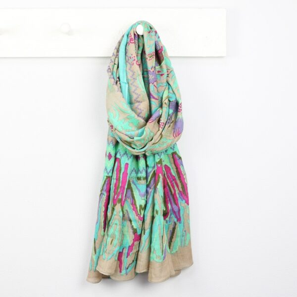 Lisa Angel Birds of Paradise Scarf