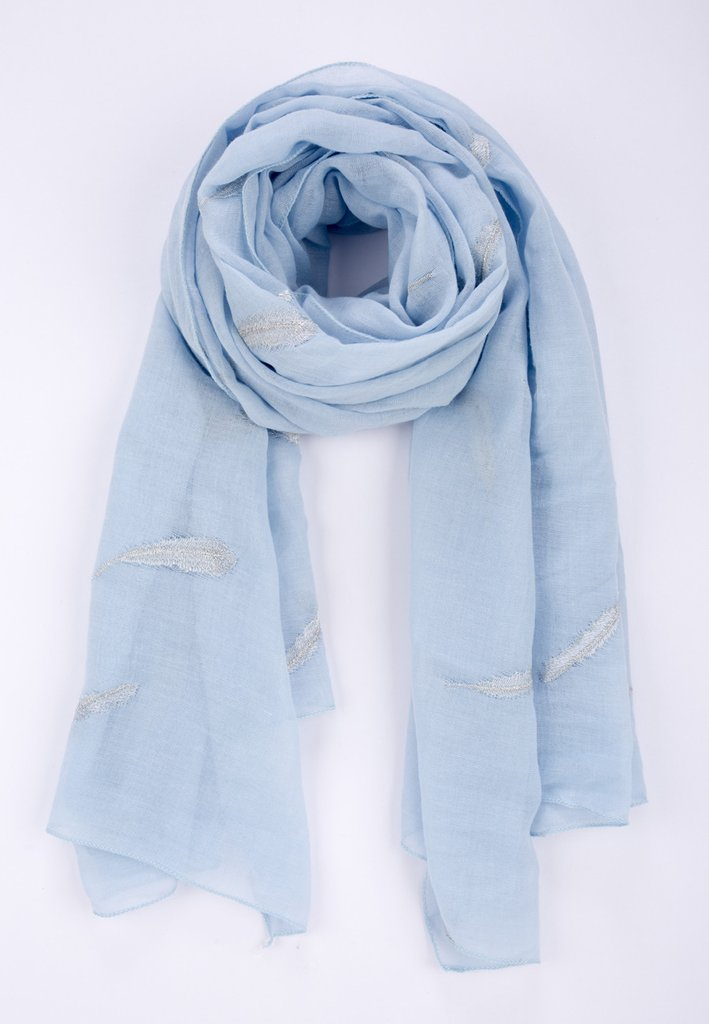 4084e10dc69 Embroidered Scarf - Various Colours Available - Moi-Même