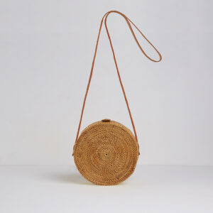 Betsy and Floss Palermo Round Basket Bag