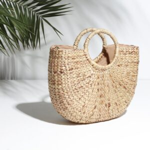 Betsy and Floss Ischia Structured Basket Bag
