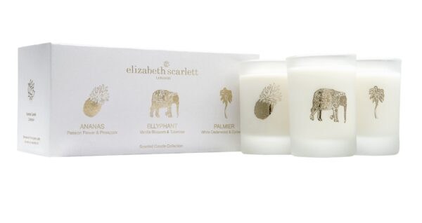 Elizabeth Scarlett Mini Candle Gift Set - Core Collection