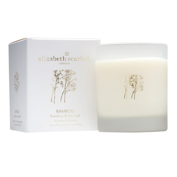 Elizabeth Scarlett Bambou Candle with Box