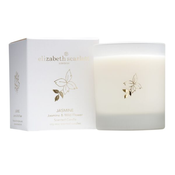 Elizabeth Scarlett Jasmine Candle with Box