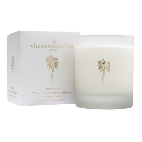 Elizabeth Scarlett Palmier Candle with Box