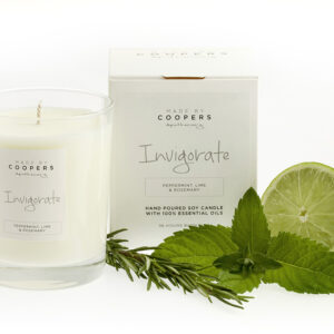 Made by Coopers Invigorate Candle Peppermint Lime and Rosemary