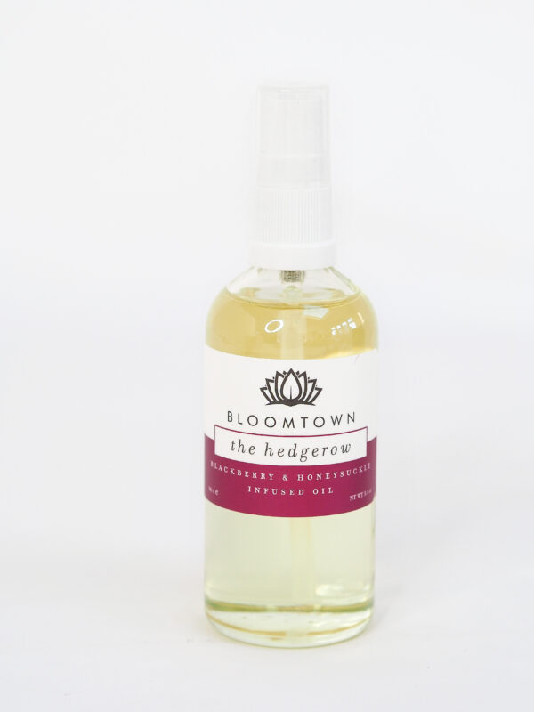 Bloomtown Infused Oil Body and Bath Oil The Hedgerow