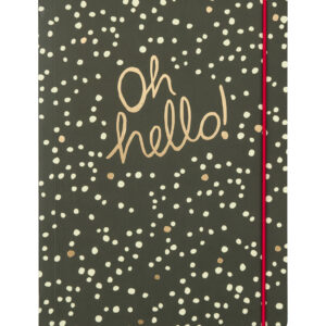 'Oh Hello' Notebook by Portico Designs
