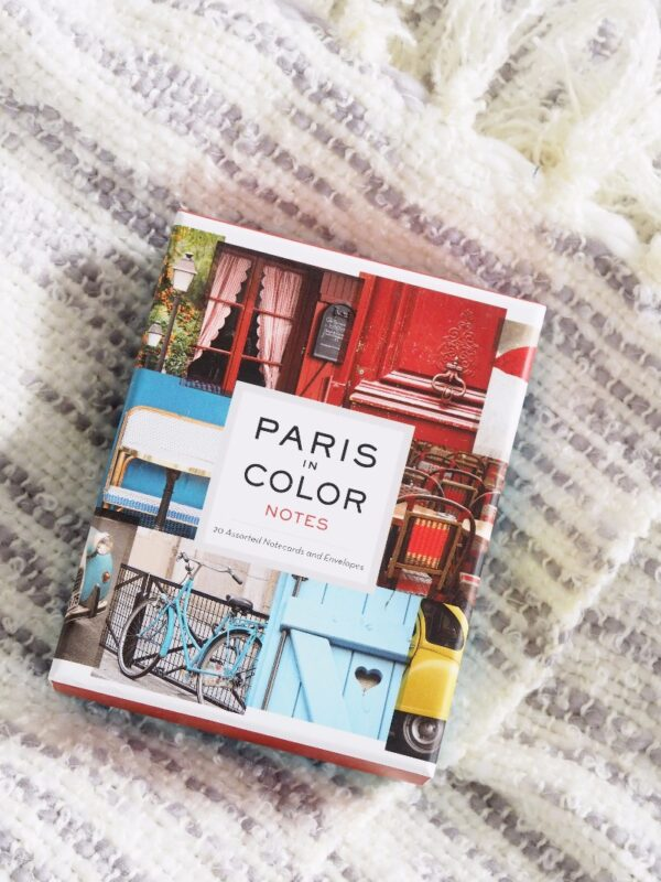 Paris in Colour Set of 20 notecards by Nichole Robertson