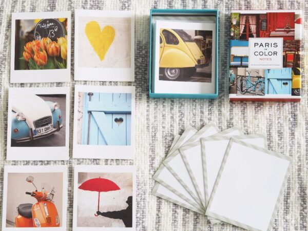 Paris in Color Notecards - Set of 20 by Nichole Robertson