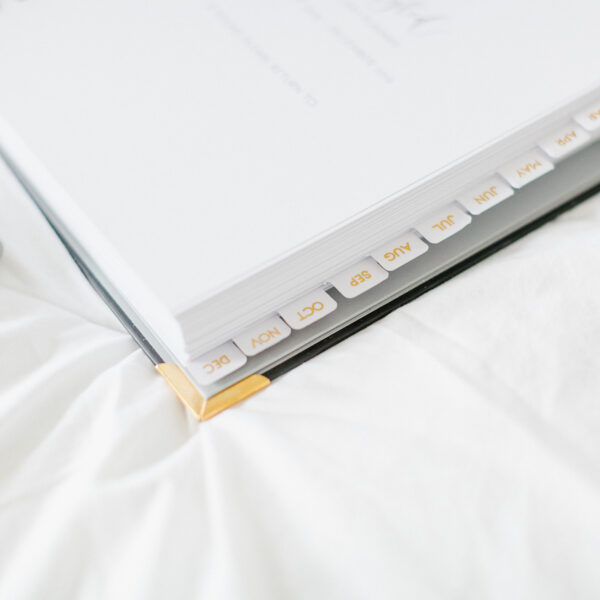 Lifestyled Planner Month Tabs 2019 Diary