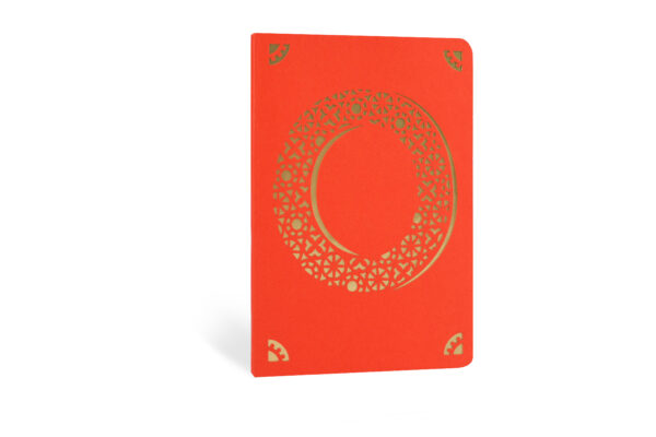 O Monogram Foil A6 Notebook by Portico Designs