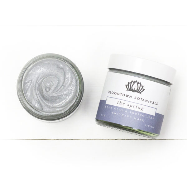 Bloomtown Blue Clay Mask with Soothing Bentonite and Indigo Leaf
