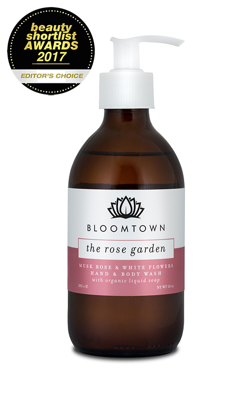 Bloomtown The Rose Garden Hand and Body Wash