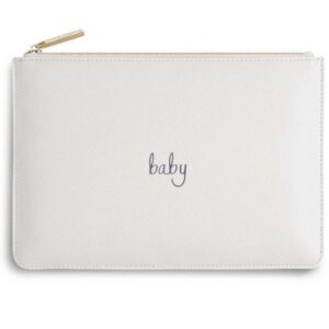 Katie Loxton Baby Pouch White
