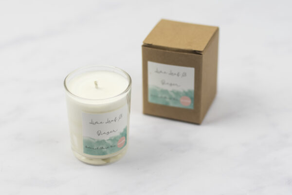 Moi-Meme Votive Travel Candle 9 cl Limeleaf & Ginger