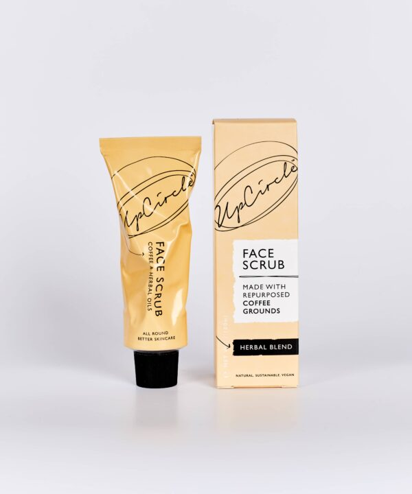 UpCircle Beauty Coffee Face Scrub in Herbal Formulation for Oily and Combination Skin