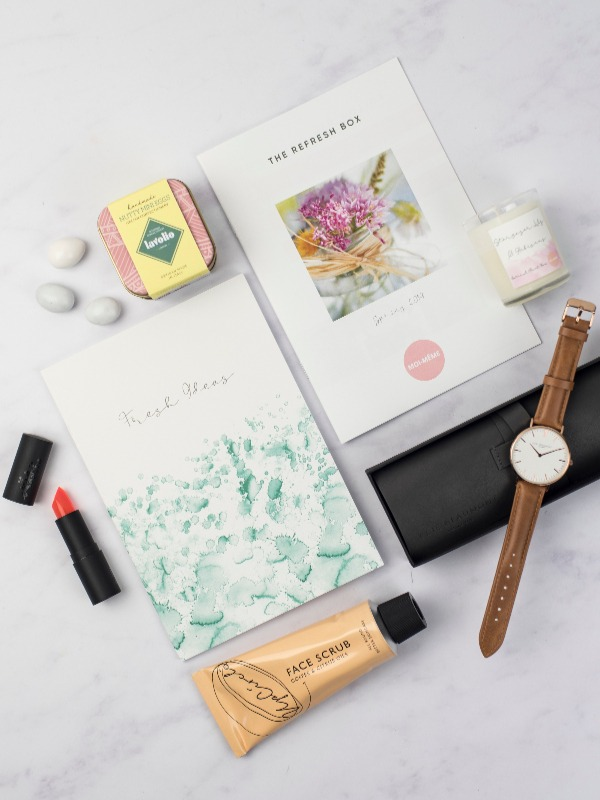 The Refresh Box Moi-Meme Luxe Spring 2019