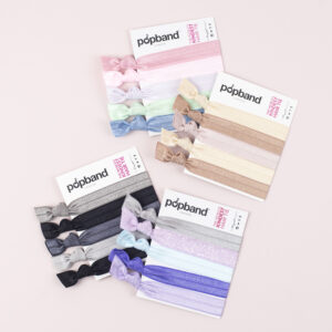 Popband London Hair Ties Blondie Ink Milkshake Mauve