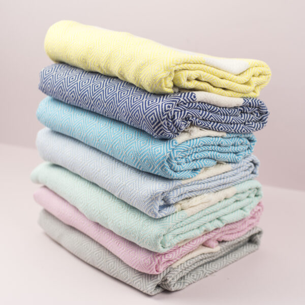 Moi Meme Organic Cotton Hammam Towels