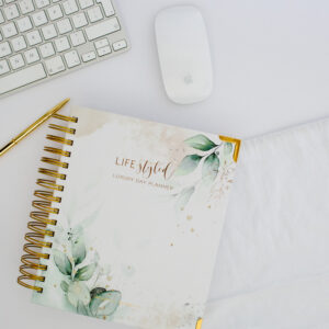Life Styled Planner Botanical Green Luxury Planner