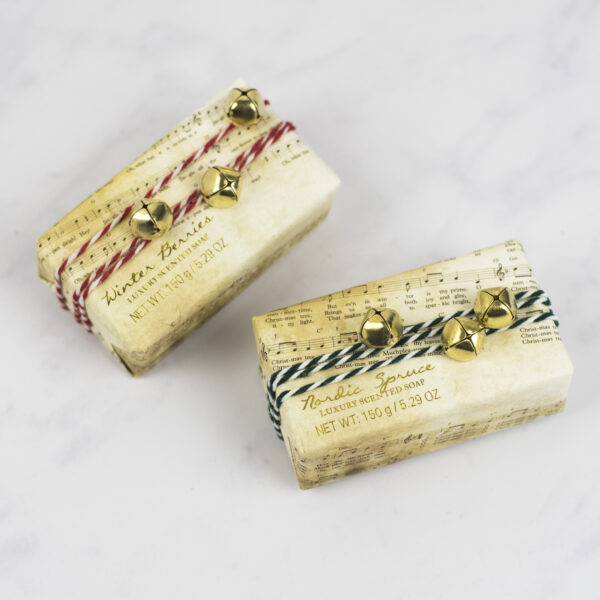 Christmas Soaps Winter Berries and Nordic Spruce