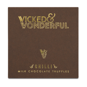 Wicked & Wonderful Milk Chocolate Chilli Truffles